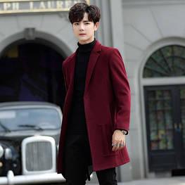 Мужское пальто. Модель 18106