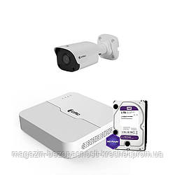 IP комплект видеонаблюдения ZetPro IP-2M-1OUT-Lite