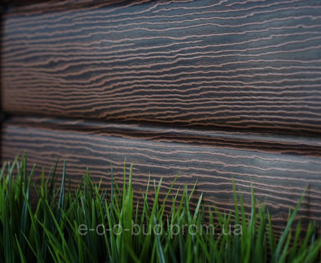 Сайдинг Timberblock Дуб Морений - фото 2