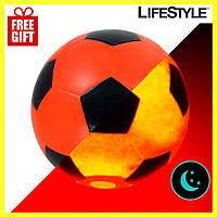 Светящийся в темноте мяч, Футбольный мяч + Подарок