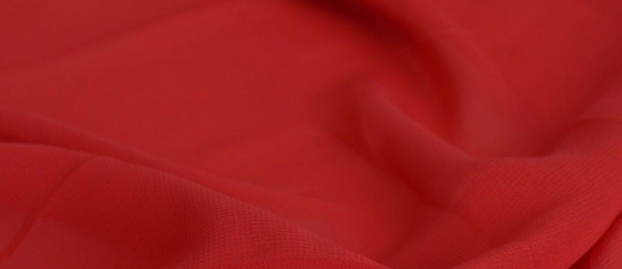 Тканина шифон купити оптом і в роздіб (Ткань шифон купить оптом и в розницу) Червоний TSH-0032