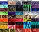 Тканина шифон купити оптом і в роздіб (Ткань шифон купить оптом и в розницу) Чорний TSH-0033, фото 2