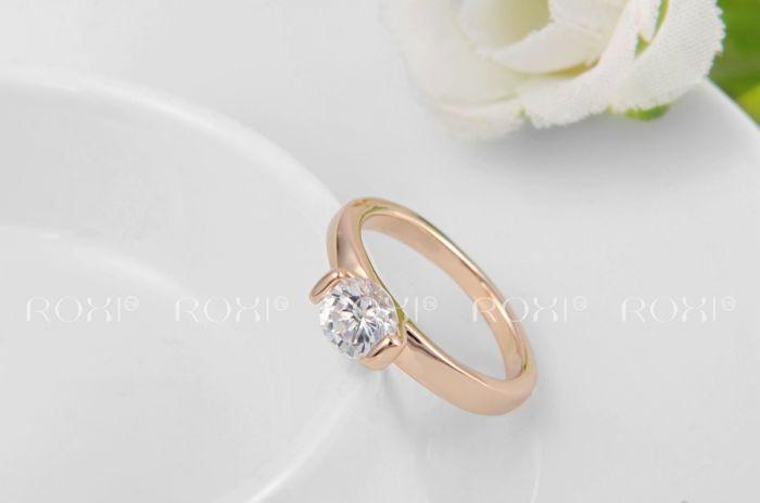 Стильное кольцо Roxi с кристаллом