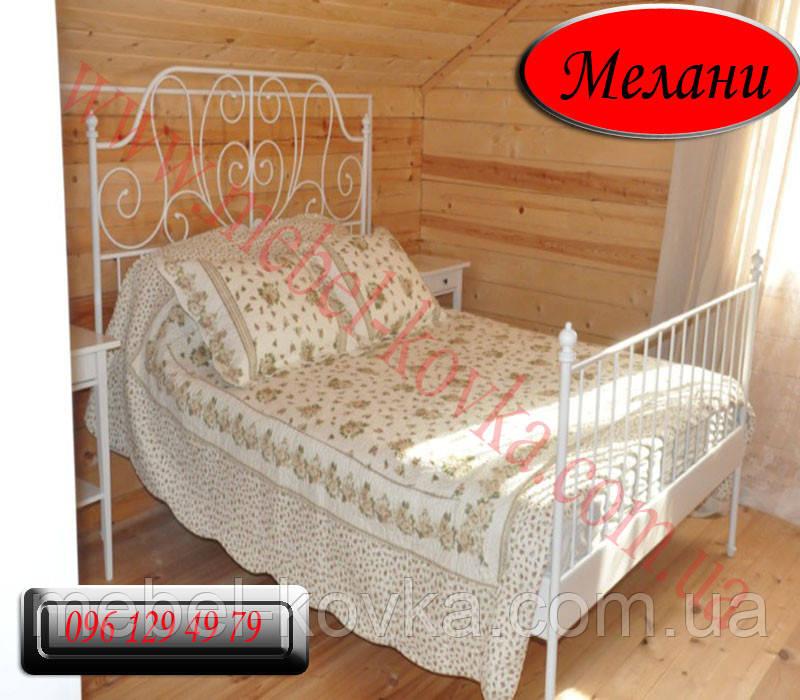 """Двуспальная кованая кровать """"Мелани"""""""