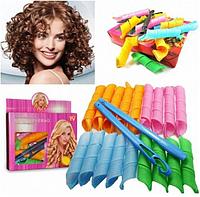 Волшебные бигуди Magic Leverag для волос 18 шт комплект, Чарівні бігуді Magic Leverag для волосся 18 шт комплект