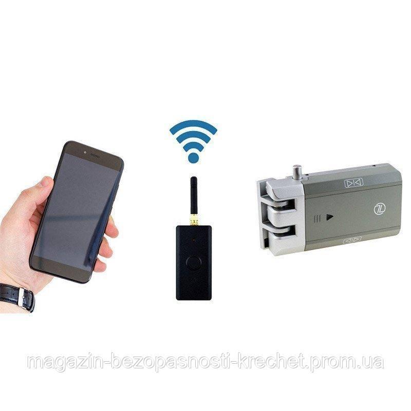 Комплект замка SEVEN Lock с модулем управления со смартфона