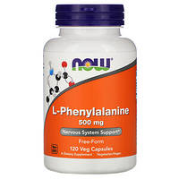 NOW_L-Phenylalanine 500 мг - 120 веган капсул