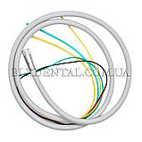 Шланг для стоматологічних установок з фіброоптикою М6, силіконовий., фото 3