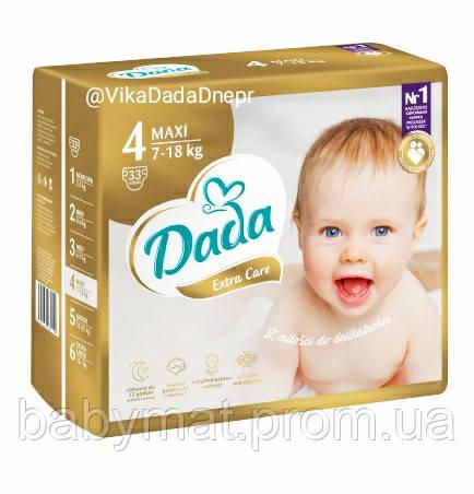 Подгузники DADA PREMIUM NOVA Extra Care Золотые  р.4 (7-18кг) 33 шт