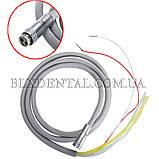 Шланг для стоматологічних установок з фіброоптикою М6, силіконовий., фото 4