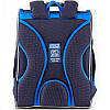 Ранец ортопедический для мальчика GoPack синий с машинкой 5001S-13, фото 5