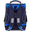 Ранец ортопедический для мальчика GoPack синий с машинкой 5001S-13, фото 4