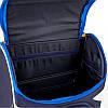 Ранец ортопедический для мальчика GoPack синий с машинкой 5001S-13, фото 7