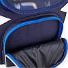 Ранец ортопедический для мальчика GoPack синий с машинкой 5001S-13, фото 8