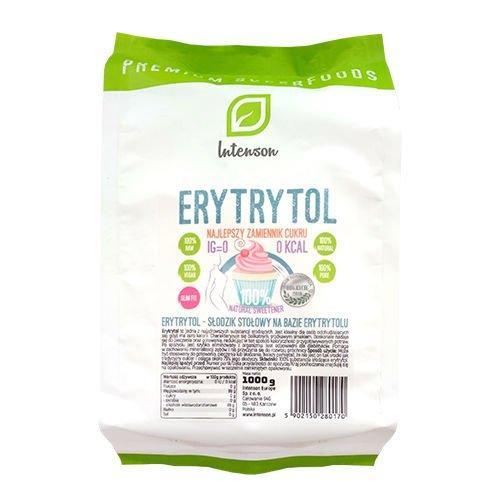 Эритритол (Эритрит, Эритрол), 100% чистый Сахарозаменитель еритритол 1000 г - Erytrol, Intenson