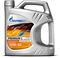 Моторное масло 10W-40 Premium L Газпромнефть 4л