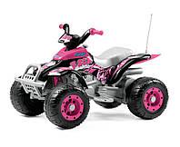 Детский электрический квадроцикл Corral T-Rex Pink