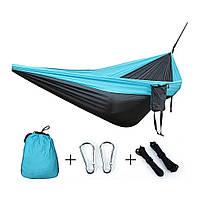 Туристический гамак Travel hammock Голубой