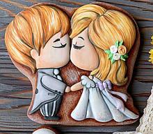 Трафарет+форма Жених  и невеста №2