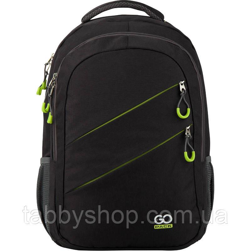 Рюкзак подростковый черный GoPack для мальчиков 110XL-2