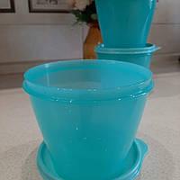 Tupperware ёмкость Новая Классика 800мл в бирюзовом цвете