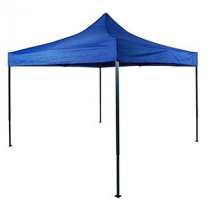 Шатер раздвижной 2,5х2,5 м синий квадратный мобильная конструкция