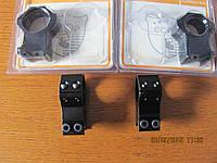 Кольца ССОР  для оптики 30 мм, на вивер, высокие