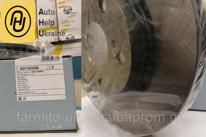 ADT343206 Blue Print Диск гальмівний передній