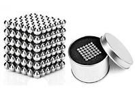 Неокуб neocube в боксе 216шт шариков конструктор магнитный шарики 5мм никель головоломка магнітний неоКуб