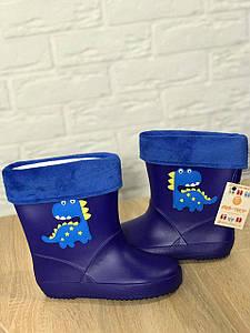 Детские резиновые сапожки Дино размер 25 Киев