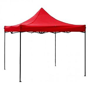 Раздвижной шатер 3 м х 3 м красный