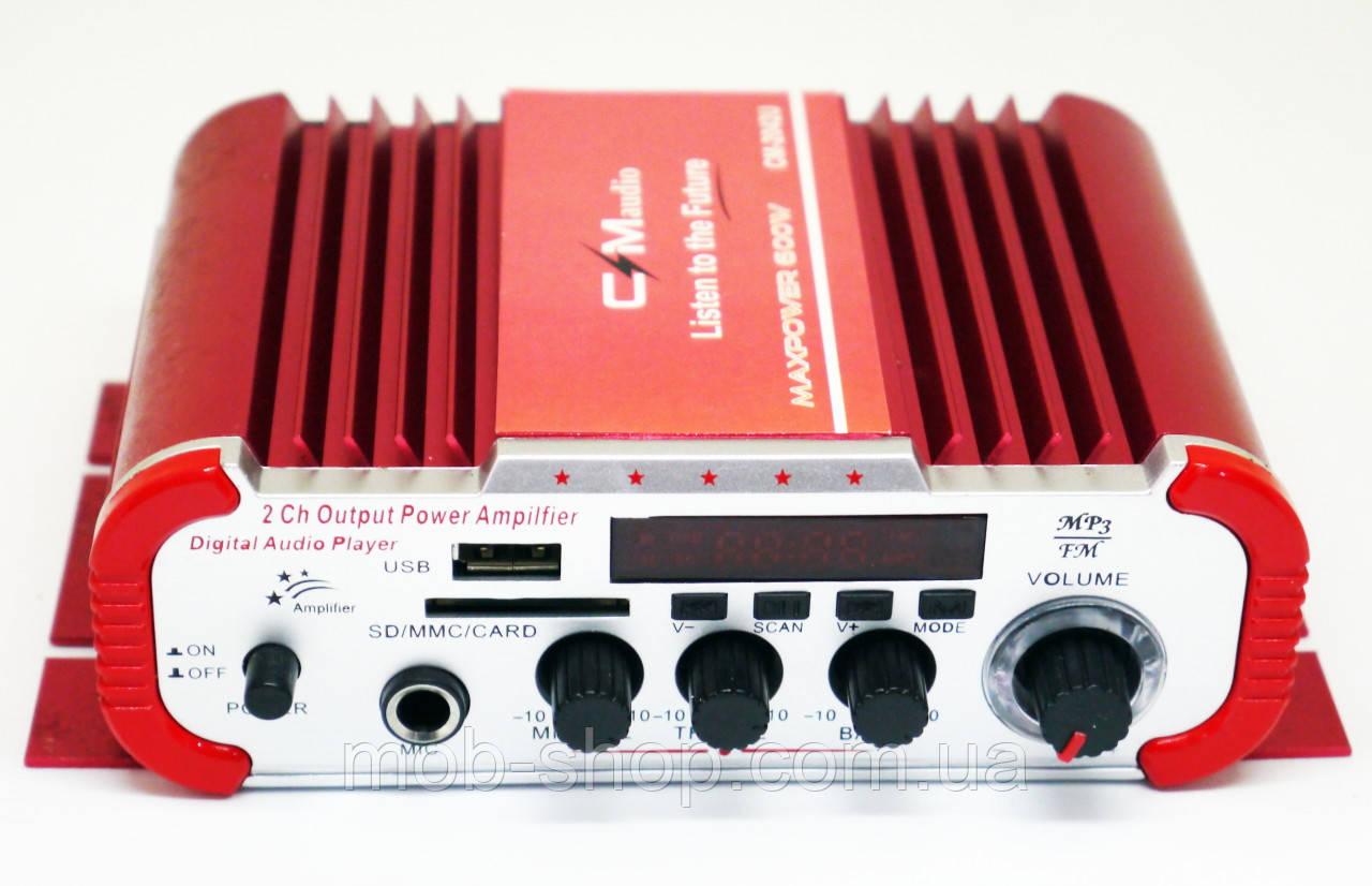 Усилитель звука CMaudio CM-2042U USB SD FM радио MP3