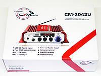 Усилитель звука CMaudio CM-2042U USB SD FM радио MP3, фото 5
