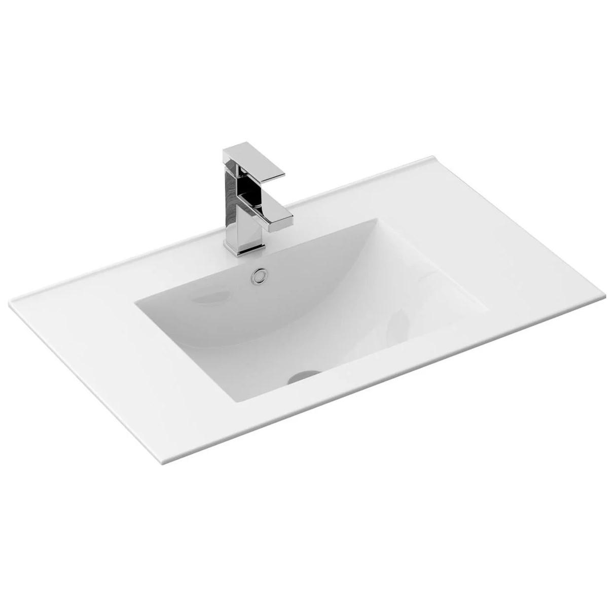 Умывальник раковина для ванной на столешницу врезной REA DAFNE 75 REA-U0040