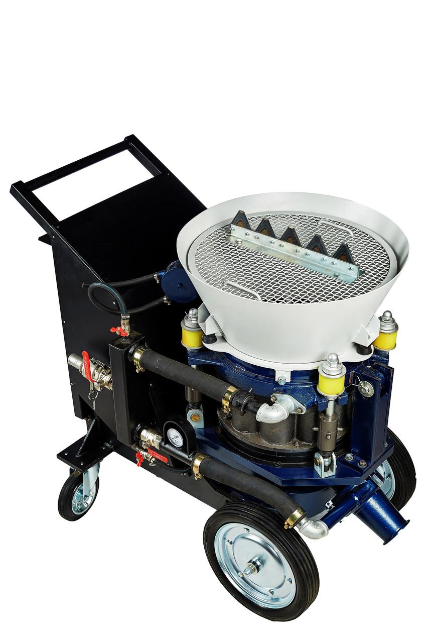 """Торкрет установка """"Торнадо Торкрет"""" АС-3-П Варіо 4-9.6 м3/год пневмодвигун 7.5 кВт"""
