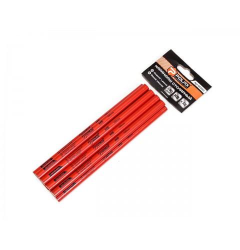 """ТМ""""POLAX"""" Олівець столяр, овал (графіт) 180мм (уп.12 шт) (шт.)"""