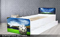 Кровать детская Футбол BEVERLY на ламелях 1900х800, фото 1