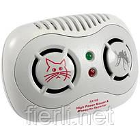 Ультразвуковой отпугиватель мышей и комаров AR 166B