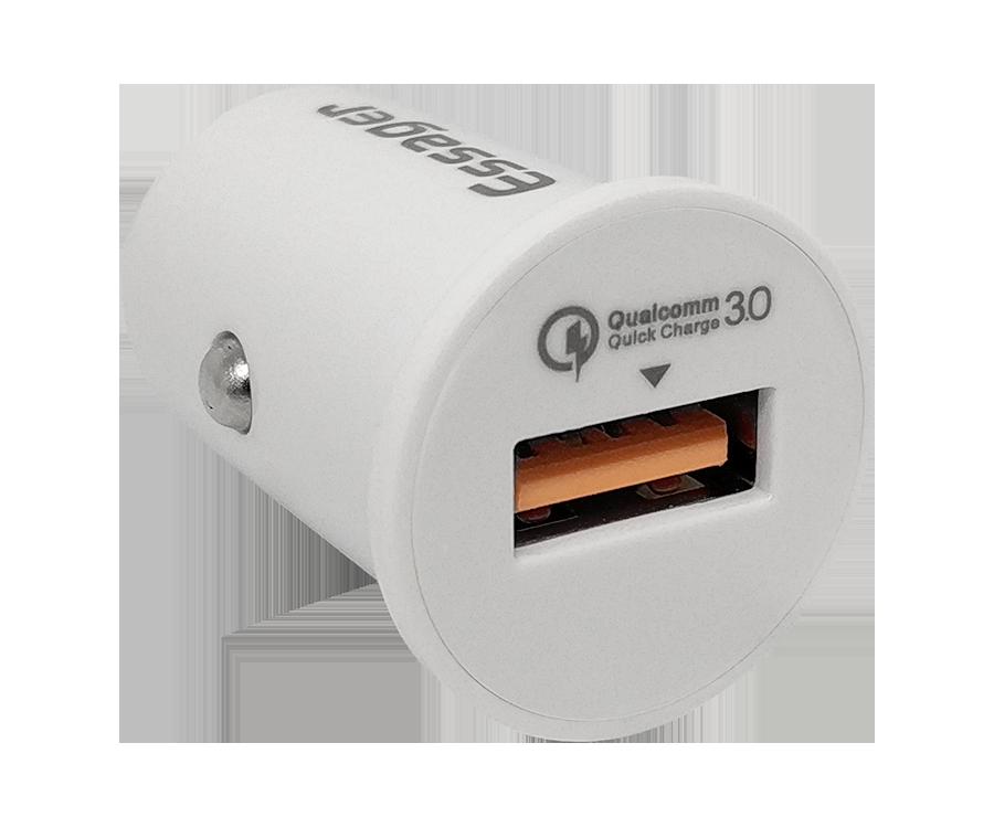 Автомобильная зарядка Essager LL, Quick Charge 3.0, 18W, 1 usb