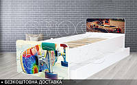 Кровать детская Скейтборд BEVERLY на ламелях 1900х800, фото 1