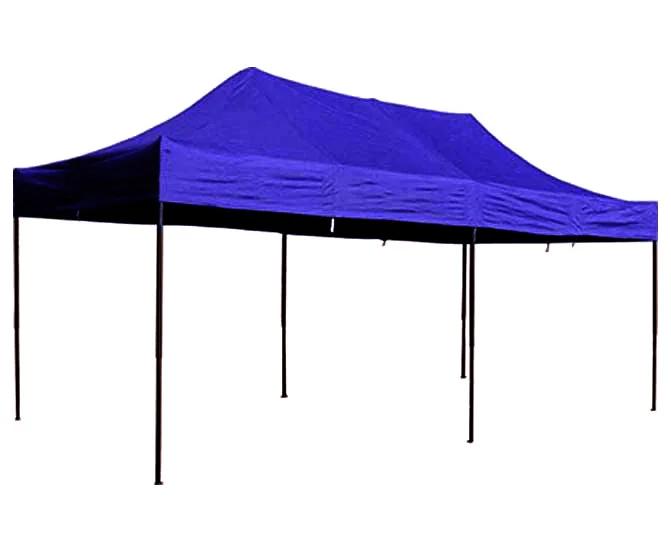 Шатер для отдыха 3 м х 6 м синий раздвижной