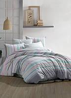 Комплект постельного белья ранфорс ТМ Majoly 200*220 Decora v1