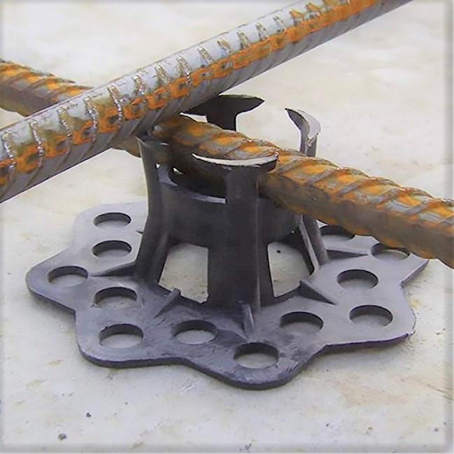 Подставка для арматуры Настил 15, 20 мм. опорным основанием, 250 штук в упаковке