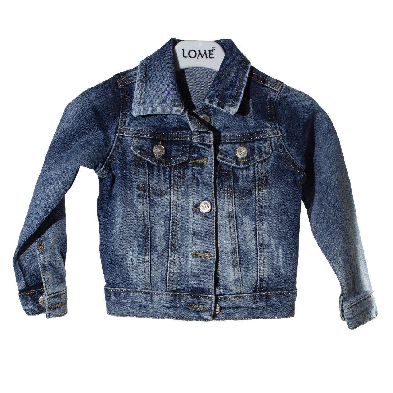 Джинсовая куртка для девочки, размер  2 года