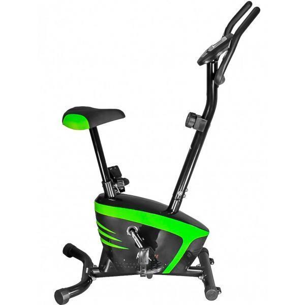 🔥 Велотренажер для дома магнитный USA Style SS-FT-250B зеленый