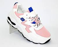 Яркие белые кроссовки для женщин