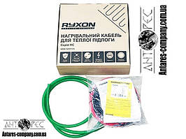 Тонкий двожильний нагрівальний кабель RYXON HC-20 (4 м.кв) 800 вт ГУРТ