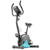 Велотренажер для дома до 100 кг магнитный Hop-Sport HS-030H Juke бирюзовый