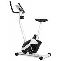 Велотренажер для дома вертикальный магнитный до 120 кг Hop-Sport HS-045H EOS белый
