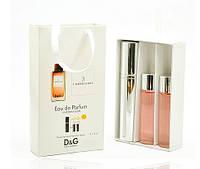 Женский мини парфюм Dolce & Gabbana 3 L`Imperatrice (Дольче Габбана 3 Императрица) 3*15 мл